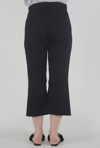 Black Wide Legged Culotte Pants