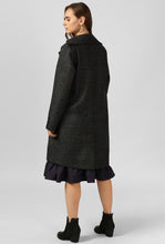 Load image into Gallery viewer, Grey Textured Felt Snuggle Up Long Coat