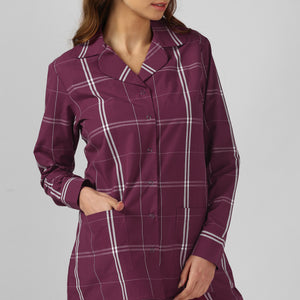 Magenta Play Up Night Suit