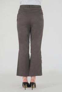 Mink Grey Peek-a-Boo Pants back