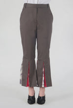 Load image into Gallery viewer, Mink Grey Peek-a-Boo Pants crop