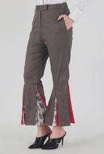 Load image into Gallery viewer, Mink Grey Peek-a-Boo Pants side