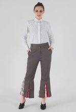 Load image into Gallery viewer, Mink Grey Peek-a-Boo Pants style