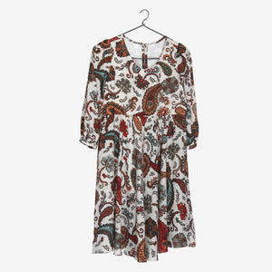 Paisley Print Mini Me Frock Dress