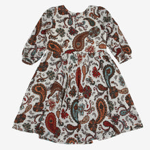 Load image into Gallery viewer, Paisley Print Mini Me Frock Dress