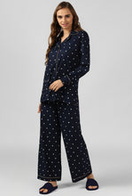 Load image into Gallery viewer, Starry Night Polka Print Night Suit