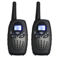 Portable 2-channel Radio Walkie Talkie Pair