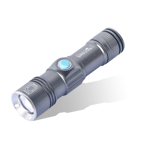 3 Modes Zoomable Lanterna Led Tactical Flashlight Gladiator Special Edition