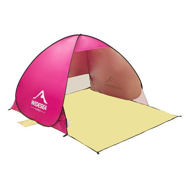 Polyester Waterproof Light Weight Tent For 1 - 2 Persons