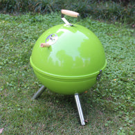 Portable Apple Round Iron BBQ Stove