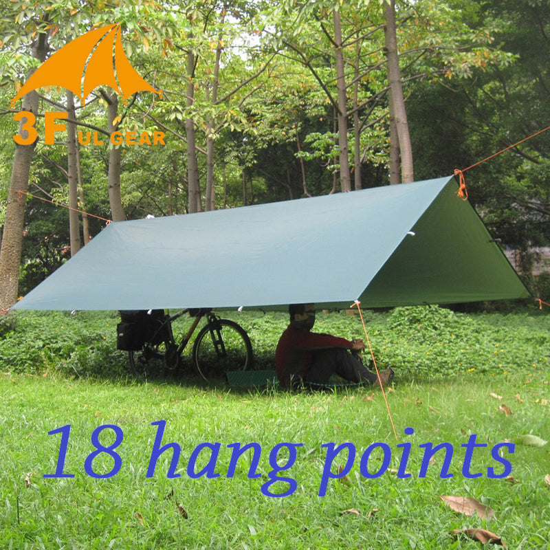 Ultralight Tarp Outdoor Camping Survival Sun Shelter Shade