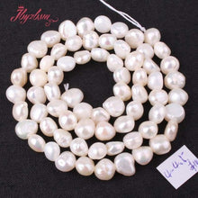 "Load image into Gallery viewer, 3-4.5mm Irregular Freshwater Pearl Natural Stone Beads For DIY Necklace Bracelets Earring Jewelry Making 14.5"" Free Shipping"