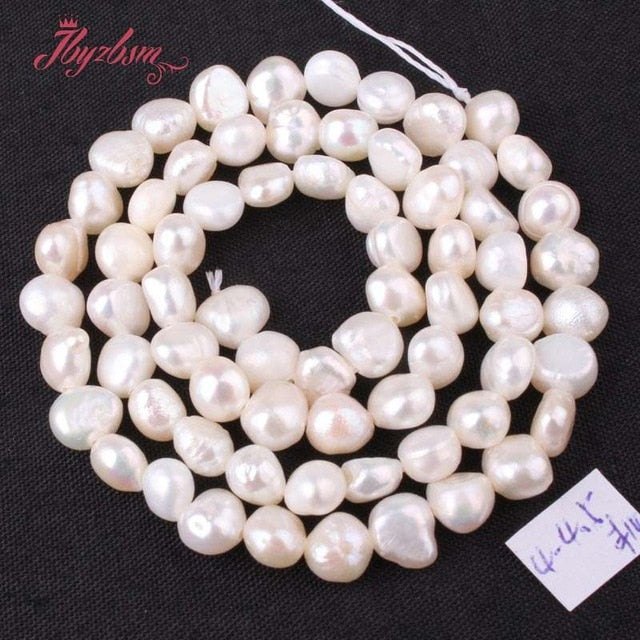 3-4.5mm Irregular Freshwater Pearl Natural Stone Beads For DIY Necklace Bracelets Earring Jewelry Making 14.5