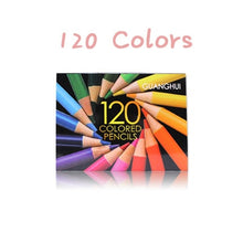 Load image into Gallery viewer, 120 or 160 Piece Professional Oil Pastel Pencil Set  / Safe Non-toxic Oil Color Pencils for Drawing, Sketching - Art Supplies