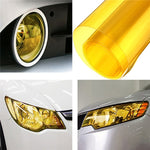 Yellow DIY Tinting Car Fog Tail Light Headlights - IgrairDeals