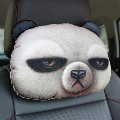3D Cat Dog Panda Rabbit Neck Cushion - IgrairDeals