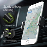 Car Phone Holder for iPhone and Samsung Mobile - IgrairDeals