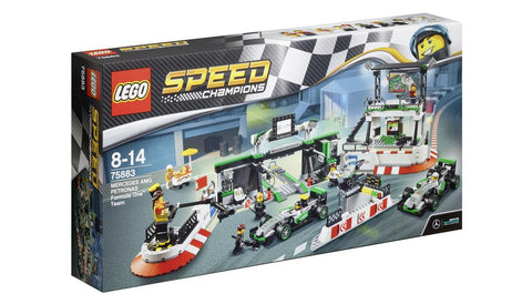 LEGO, Speed Champions, Team MERCEDES AMG PETRONAS Formula One