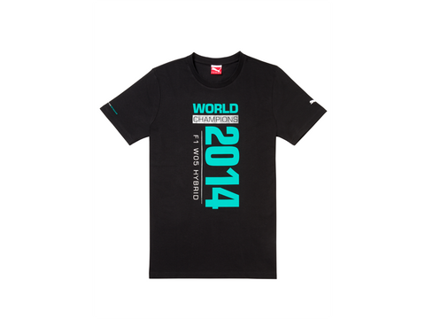 T-shirt unisex F1 World Champions 2014