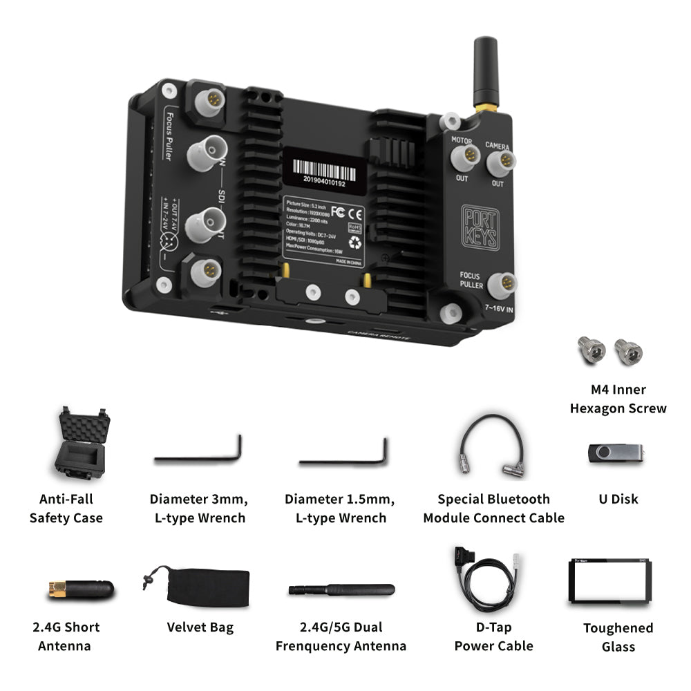 BM5 II Package with BT1 Bluetooth Module for Remote Control BMPCC 4K/6K