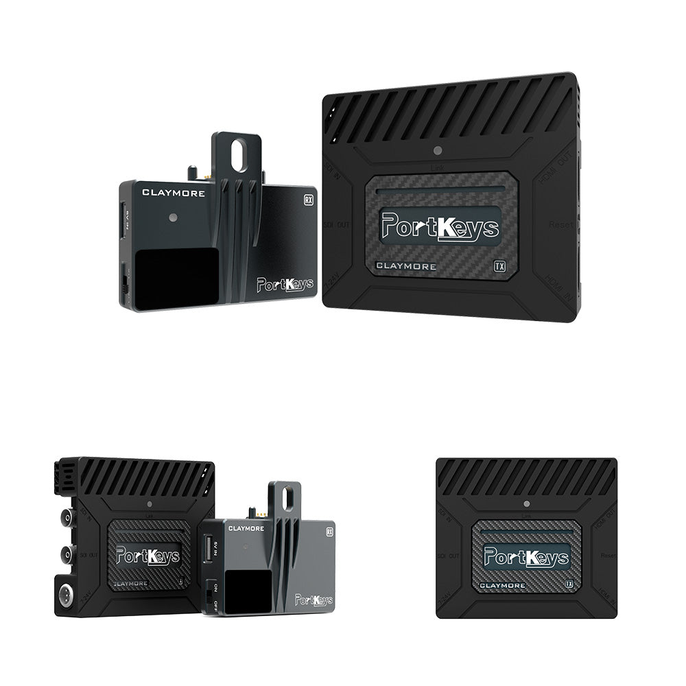 Claymore Wireless HDMI & SDI Video Transmission Kit, Uncompressed, Without delay, Includes Transmitter and Receiver