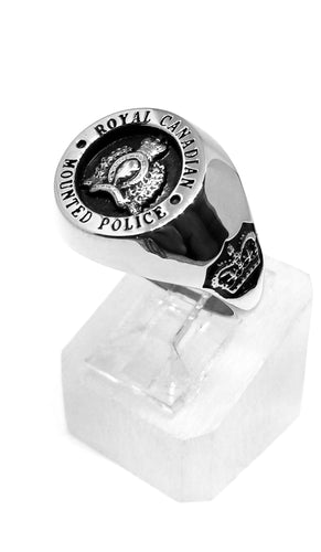 RCMP XXL Sterling Silver Ring
