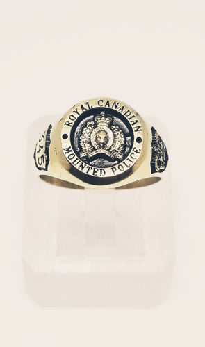 RCMP Small Yellow Gold Ring