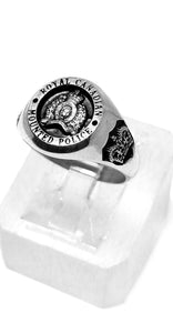 RCMP Small Sterling Silver Ring
