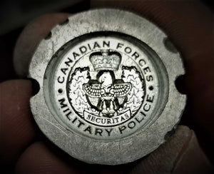 Canadian Forces Military Police Ring (Totem Pole Design)