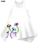 Neon Jellyfish Cover-Up Dress (Ladies) - - Ladies Tees | No Sleeves