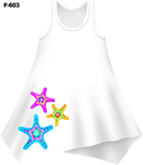 Tie-Dye Starfish Cover-Up Dress (Ladies) - - Ladies Tees | No Sleeves
