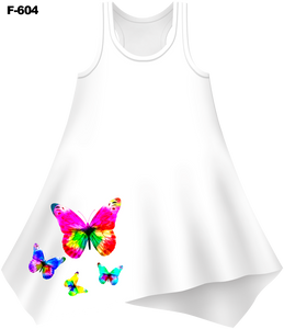 Butterflies Cover-Up Dress (Ladies) - - Ladies Tees | No Sleeves