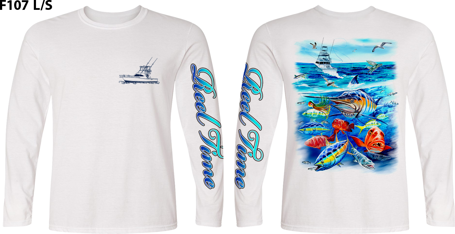 Action Waters (Unisex) - - Unisex Tees | Long Sleeves