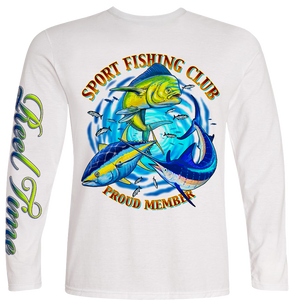 Tuna-Marlin-Mahi (Unisex) - - Unisex Tees | Long Sleeves