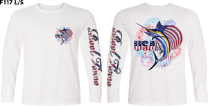 Patriotic Sailfish (Unisex) - - Unisex Tees | Long Sleeves