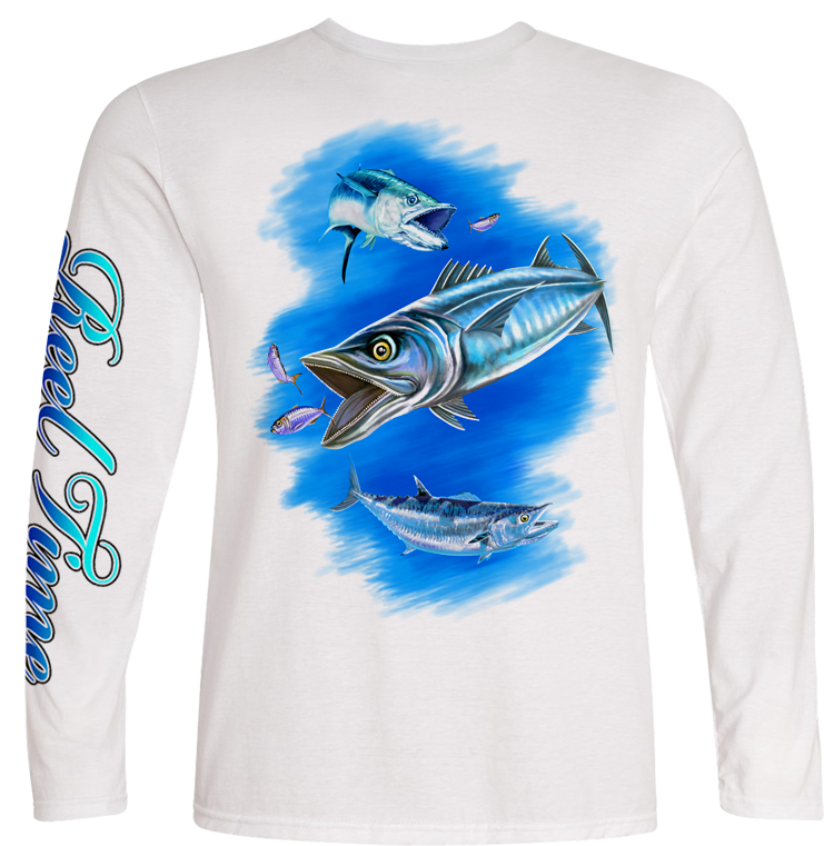 Kingfish (Unisex) - - Unisex Tees | Long Sleeves
