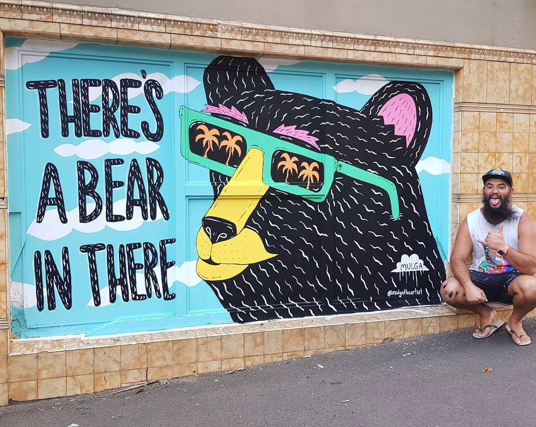 Baby Bear Bar, Burdekin Hotel NSW