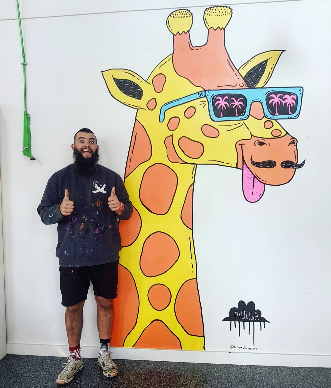 Hayden the Giraffe, The Disability Trust, Miranda, NSW.