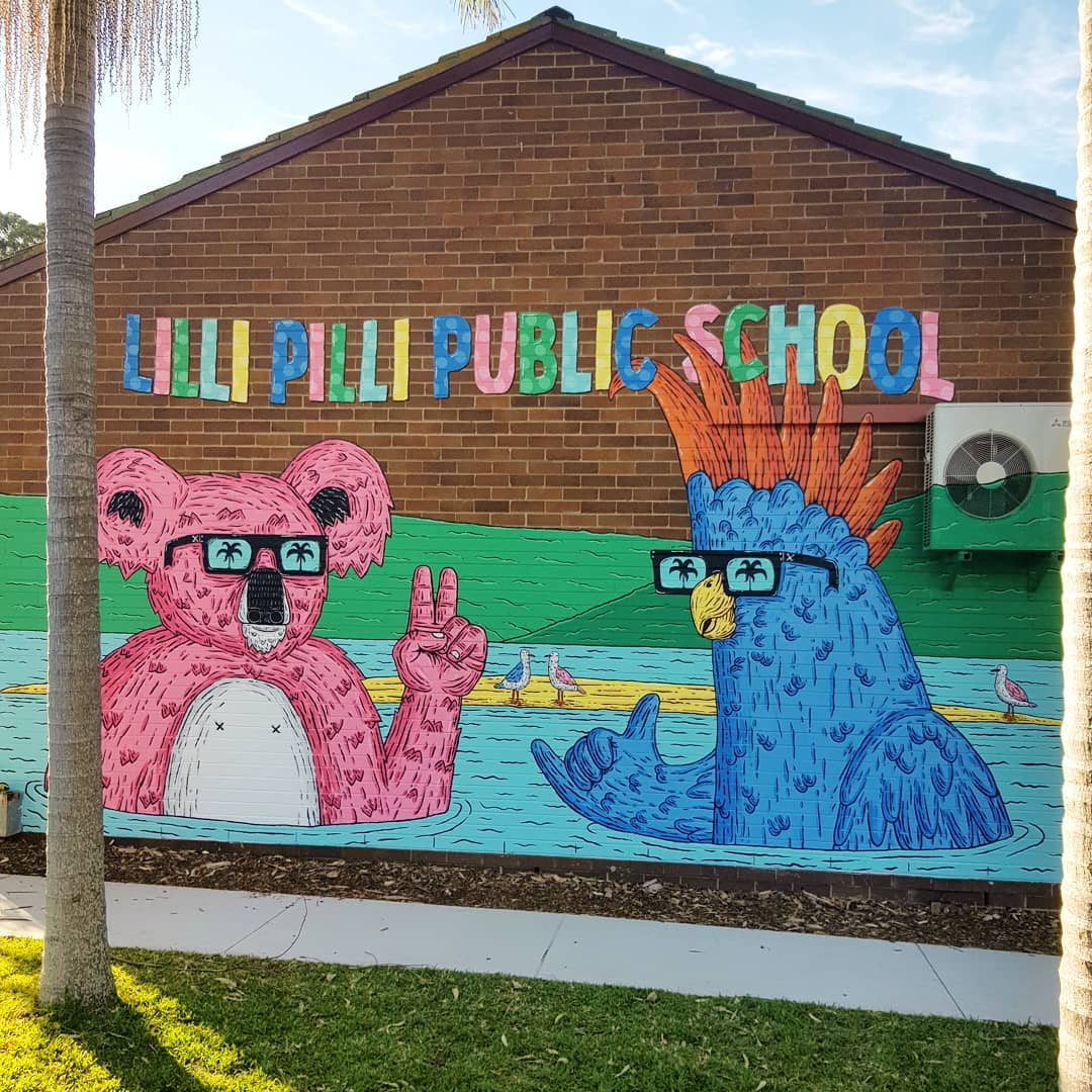 Lilli Pilli Public School, NSW.