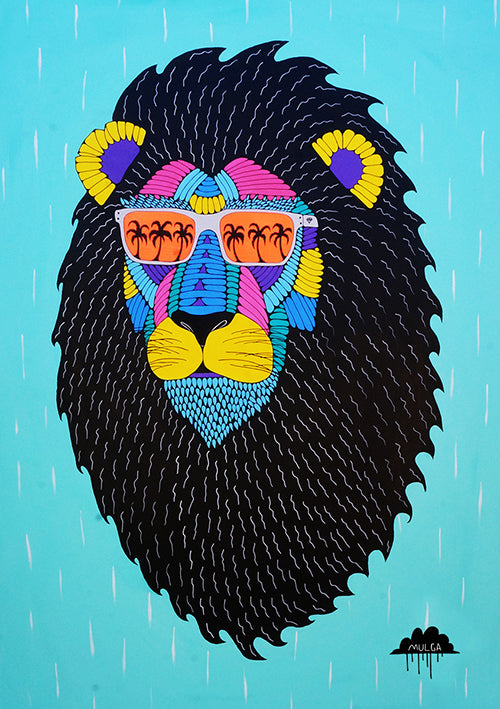 Leroy The Lion Print