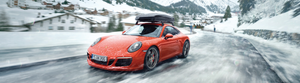 It's that time of year... Shift into winter, in Porsche style!
