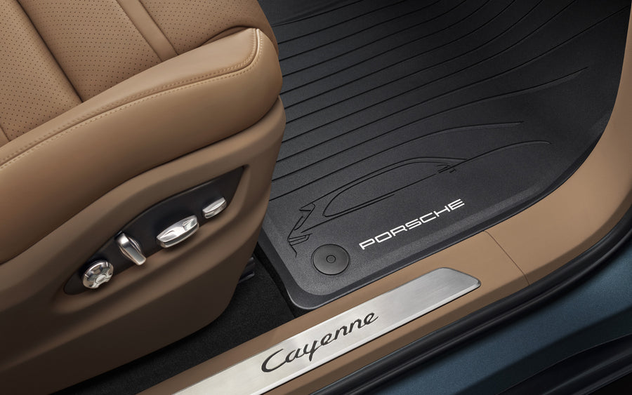 All Weather Floor Mats, Cayenne (E3)