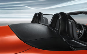 Roll bar painted in Black (high-gloss)