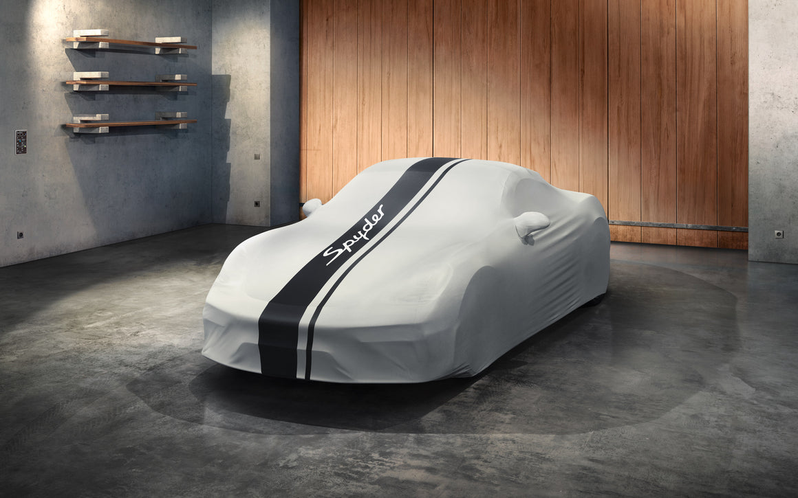 Indoor car cover 718 Spyder design