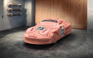 "Indoor car cover ""Pink Pig"" Design"