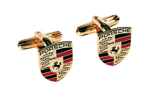 Porsche Crest cufflinks - Heritage Collection