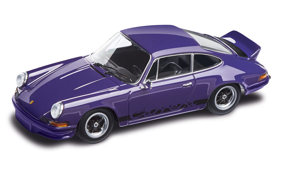911 RS 2.7, in lilac & black, DieCast, 1:43