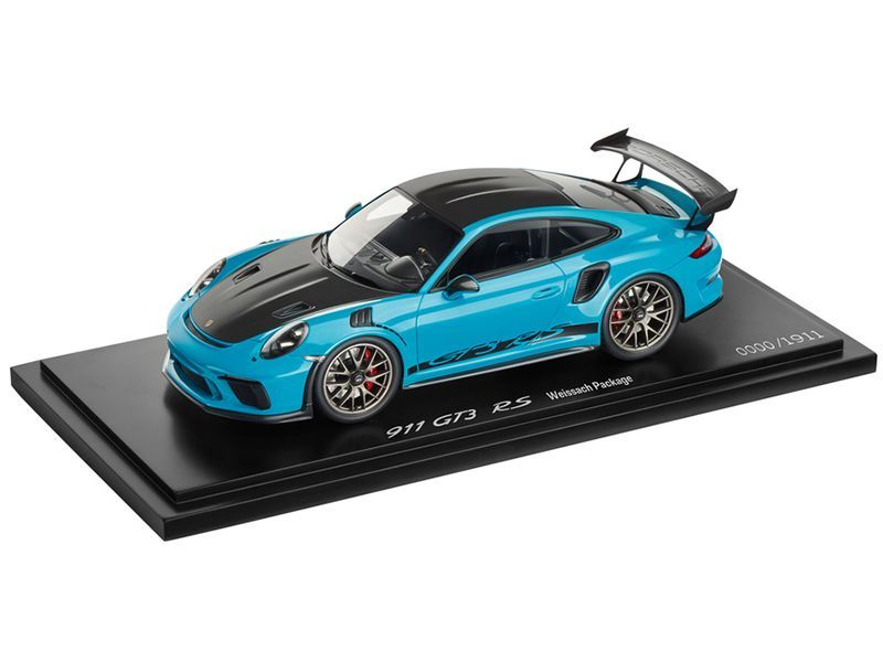 911 GT3 RS with Weissach package – Limited Edition – 1 : 43
