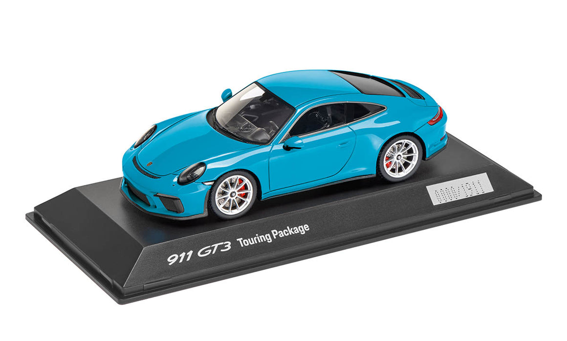 911 GT3 Touring Package, Miami Blue, 1:43, Limited Edition