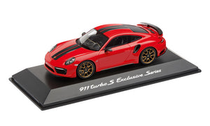 911 Turbo S, Exclusive Series, Guards Red, 1:43